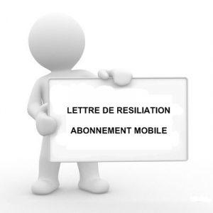 Modele de lettre de résiliation abonnement