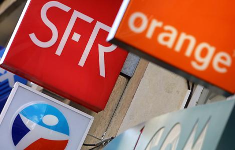 Opérateurs historiques : SFR, Orange et Bouygues Telecom