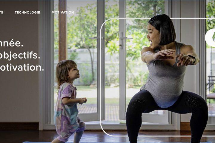 Site officiel de Fitbit