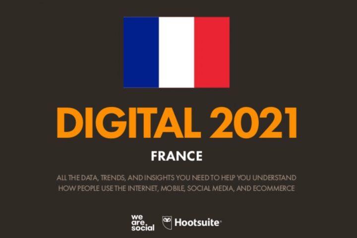 Rapport de l'usage du numérique et du mobile en France